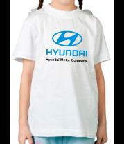Детская футболка  Hyundai