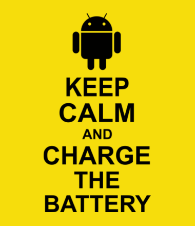 Мужская футболка Keep calm and charge the battery (android)