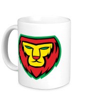 Кружка Lion red yellow green