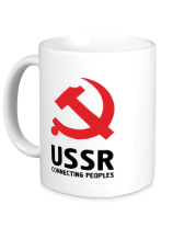 Кружка USSR - Connecting Peoples
