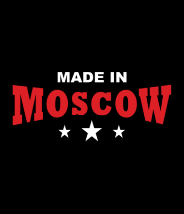 Толстовка худи Made in Moscow