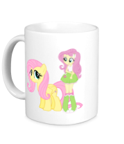 Кружка Fluttershy and Fluttershy