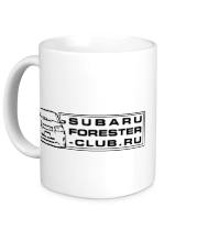 Кружка Subaru Forester Club