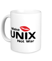 Кружка Make unix, not war