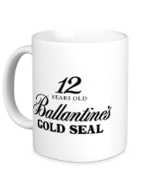 Кружка Ballantines Gold Whisky