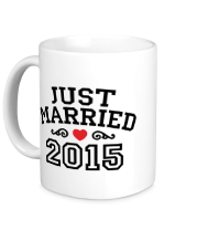 Кружка Just married 2015