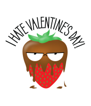 Чехол для iPhone I Hate Valentines Day
