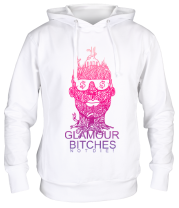 Толстовка худи Glamour bitches notdie!