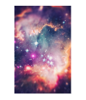 Чехол для iPhone Space Galaxy Design