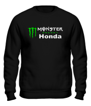 Толстовка без капюшона Monster Energy Honda