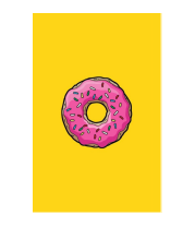 Чехол для iPhone Simpsons Donut