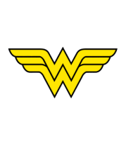 Чехол для iPhone Wonder Woman logo