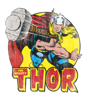 Толстовка Thor Springs Into Action