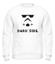 Толстовка без капюшона Dark side pixels