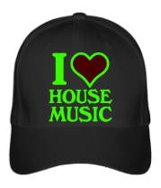 Бейсболка I love house music