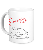 Кружка Simon's Cat