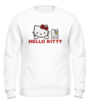 Толстовка без капюшона Hello kitty